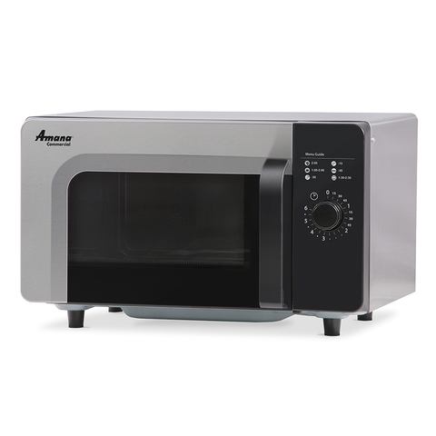 Amana RMS10DSA Commercial Microwave Oven w/ Dial Control, 1000W, 120v/60/1-ph
