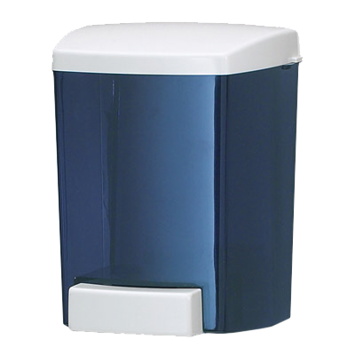 San Jamar S30TBL Classic® Soap Dispenser, wall mount, translucent arctic blue