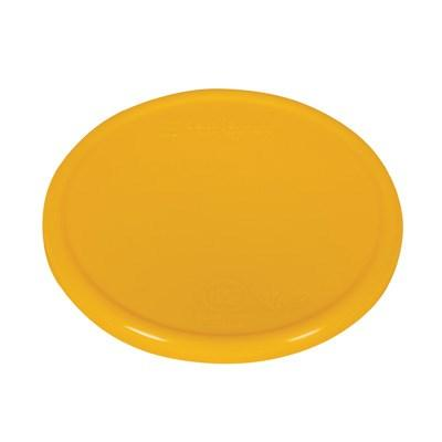 "San Jamar SCDG11PLTYL Scale Platform, Color Coded, 5-1/2"" Dia., Round, Polypropylene, Yellow"