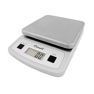 San Jamar SCDG13LP Escali 13 Lb Digital Scale With Removable Platform, Stainless, NSF
