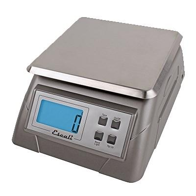 "San Jamar SCDG13 Large Square Digital Kitchen Scale, 3.75"" Length, 7.25"" Width, 9.75"" Length, NSF"