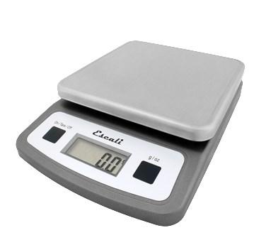 San Jamar SCDG2LP Escali 2 Lb Digital Scale, Stainless Steel, NSF