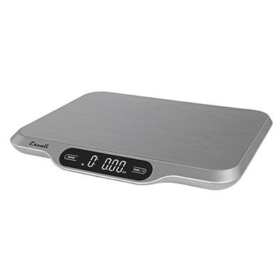 SAN SCDGSL33L Slimline Digital Scale, Rectangular, Stainless Steel Platform