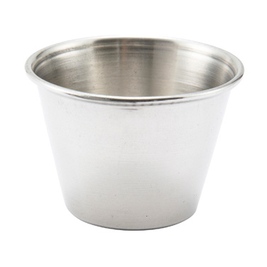 Winco SCP-25 Sauce Cup, 2-1/2 oz., round, stainless steel
