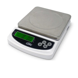 CDN SD2206 Digital Portion Scale, Stainless Steel Platform, 22lb, NSF
