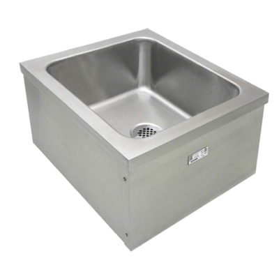 "GSW USA SE2024FM Mop Sink, floor mount, 20""W x 16""Dx 10""H"