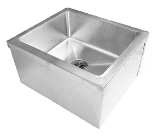 "GSW SE2424FM Mop Sink, floor mount, 21""W x 21""L x 9""D bowl"