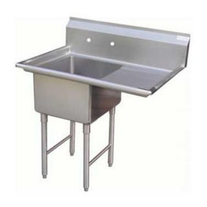 "GSW SEE18181R Sink, one compartment, 39""W x 24""D x 45""H"