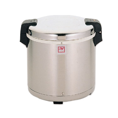 "Thunder  SEJ22000 Rice Warmer, electric, 50 cup capacity, 15-1/2"" dia. x 15-1/4""H, non-stick inner pot, stainless steel hinged cover & exterior, mirror finish, 120v/60/1-ph, 100 watt, UL, NSF"