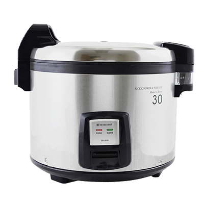 Thunder SEJ3201 Rice Cooker/Warmer, Electric, 30 Cup S/S