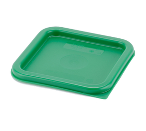 Cambro SFC2452 Cover, for 2 & 4 qt. containers, polyethylene, Kelly green, NSF