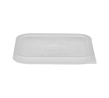 Cambro SFC2SCPP190 Cover, for polycarbonate Camwear CamSquare 2 & 4 qt. containers, polyethylene, translucent, NSF