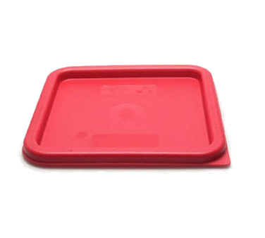 Cambro SFC6451 Cover, for 6 & 8 qt. containers, polyethylene, winter rose, NSF