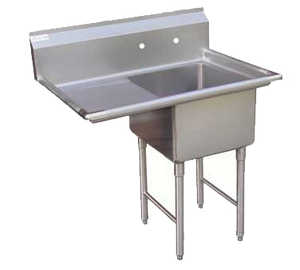 "GSW SH24241L Sink, one compartment, 51-1/8""W x 30""D x 45""H"
