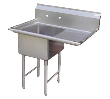 "GSW SH24241R Sink, one compartment, 51-1/8""W x 30""D x 45""H"
