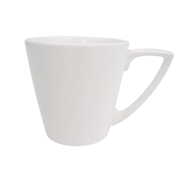 "CAC China SHER-1 Sheer Coffee Cup, 7-1/2 oz., 3-1/2"" dia. x 3-1/2""H, round, 3dz Per Case"