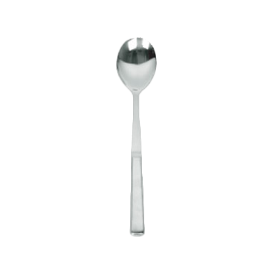"Thunder Group SLBF001 Serving Spoon 12"" OAL, Solid, Stainless Steel"