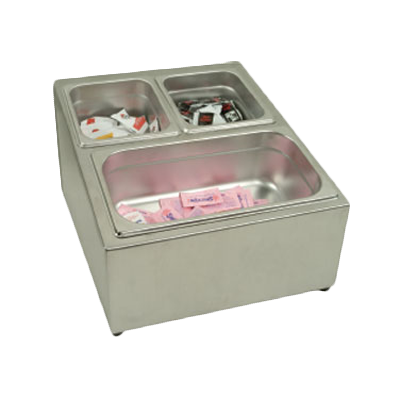 Thunder Group SLFC002 S/S Condiment Pack Holder