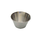 Thunder Group SLSA003 3 Oz Sauce Cup Stainless Steel