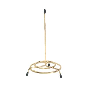 Thunder SLSPIN001 Check Spindle, Tri-Pod Circular Base with Stem, Gold-Finish