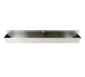 "Thunder  SLSPR042S Speed Rail, 42"", single, keyhole mount, stainless steel"