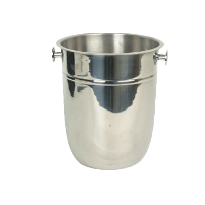 Thunder Group SLWB001 Wine Bucket, 8 quart capacity, for use with stand SLWB003, stainless steel