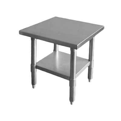 "Thunder SLWT42424F 24"" x 24"" x 35"" Work Table"
