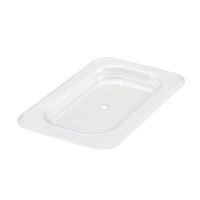 Winco SP7900S Poly-Ware™ Food Pan Cover, 1/9 size, solid, polycarbonate, NSF