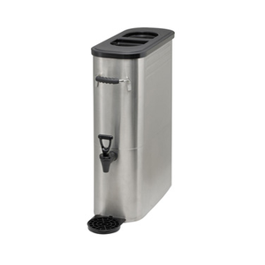 Winco SSBD-5 Stainless Steel Iced Tea Dispenser - 5 Gallon