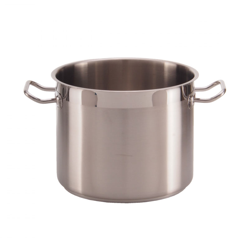 Libertyware SSPOT09WC Induction Stock Pot, 9 qt., with cover, stainless steel