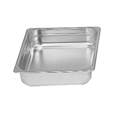 "Thunder Group STPA8122 Half-Size 2.5"" Deep Anti-Jam Pan"