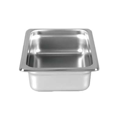 "Thunder Group  STPA8142 1/4 Size 2.5"" Deep Anti-Jam Pan"