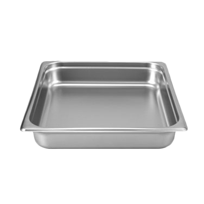 "Thunder STPA8232 Stainless Steel 2/3 Size Steam Table Pan 2.5"" Deep 24 Gauge"