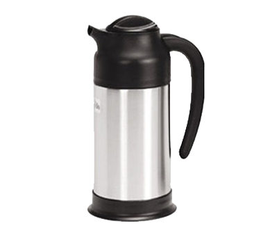 Crown Brands SV-70 Update International™ - Vacuum Creamer, 0.7 liter, insulated, stainless steel lined, stainless steel body, black plastic top