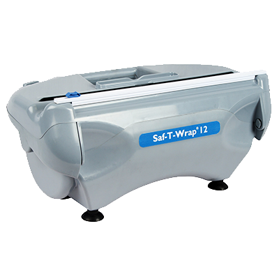 "San Jamar SW12 Saf-T-Wrap® Station Dispenser, dispenses film or foil rolls of 12"" only"