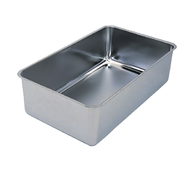 "Crown Brands SWP-6 Update International™ - Spillage Pan, 6-1/4"" deep, stainless steel, accommodates 2-1/2"", 4"" & 6"" steam table pans"