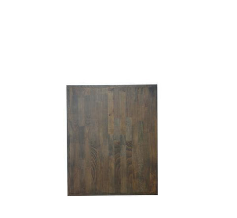 DHC T16-REC-WAL--3030 Mixed Butcher Block Restaurant Table, 30 x 30""