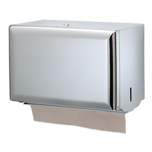 San Jamar T1800XC Classic® Paper Towel Dispenser, wall mount, bright chrome finish