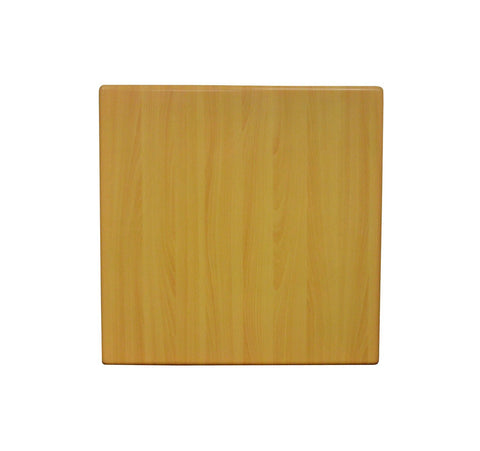 DHC T2 RN Natural Color Resin Coated Table Top for Restaurants