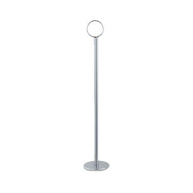 "Winco TBH-15 Table Number Holder, 15""H, chrome-plated steel, mirror finish"