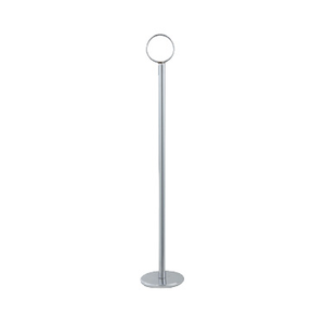 "Winco TBH-8 Table Number Holder, 8""H, chrome-plated steel, mirror finish"
