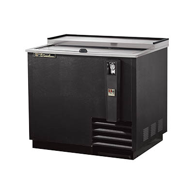 True TD-36-12 Bottle Cooler, Flat Top, (11cs) 12oz Bottle Capacity