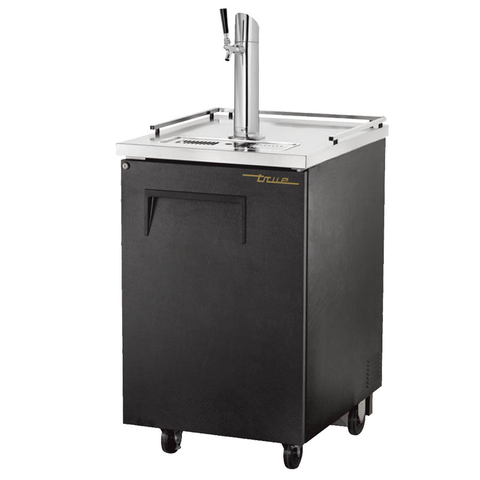 Draft Beer Cooler, (1) Keg Capacity, Stainless Steel Counter Top