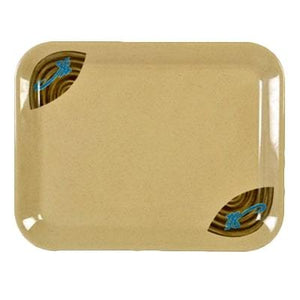"Thunder Group 0903J Wei 17"" x 12-5/8"" Melamine Large Tray"