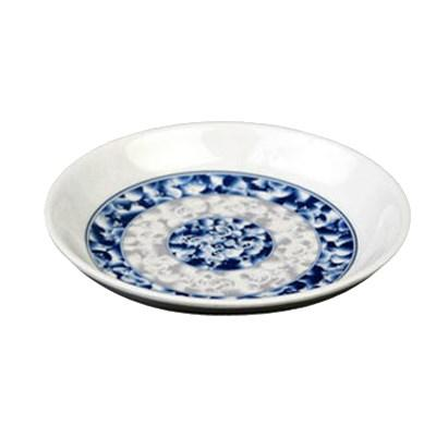 Thunder Group 1003DL Blue Dragon 3 oz. Round Melamine Sauce Dish