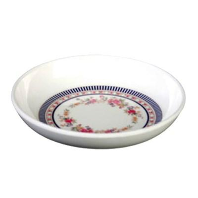 Thunder Group 102.8AR Rose 2 oz. Round Melamine Sauce Dish