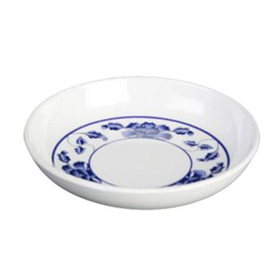 Thunder Group 102.8TB Lotus 2 oz. Round Melamine Sauce Dish