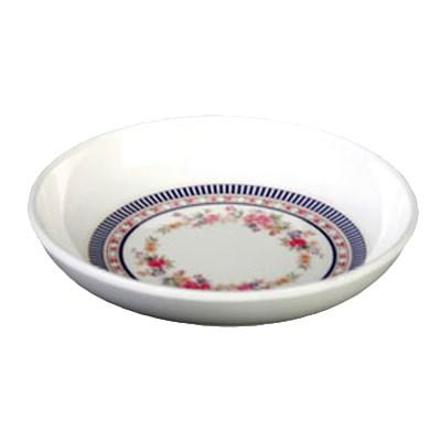 Thunder Group 1101AR Rose 1 oz. Round Melamine Sauce Dish