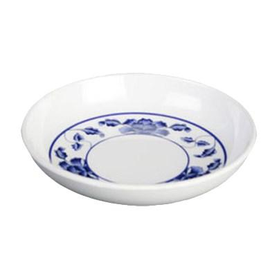 Thunder Group 1101TB Lotus 1 Oz, Round Melamine Sauce Dish