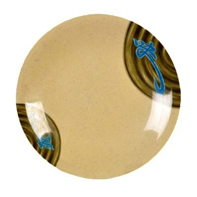 "Thunder Group 1307J Dinner Plate, 7-3/8"" Dia, Round, BPA Free, NSF"